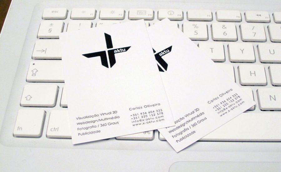 Cartão de Visita, X-aktu