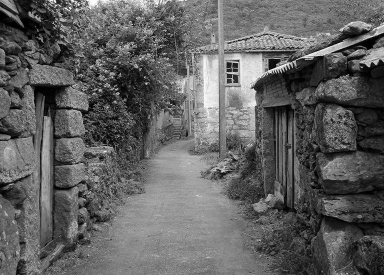 Aldeia antiga, Espanha
