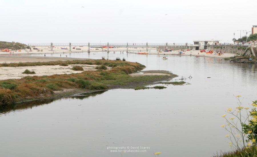 Ponte da praia de Vila Praia de Âncora