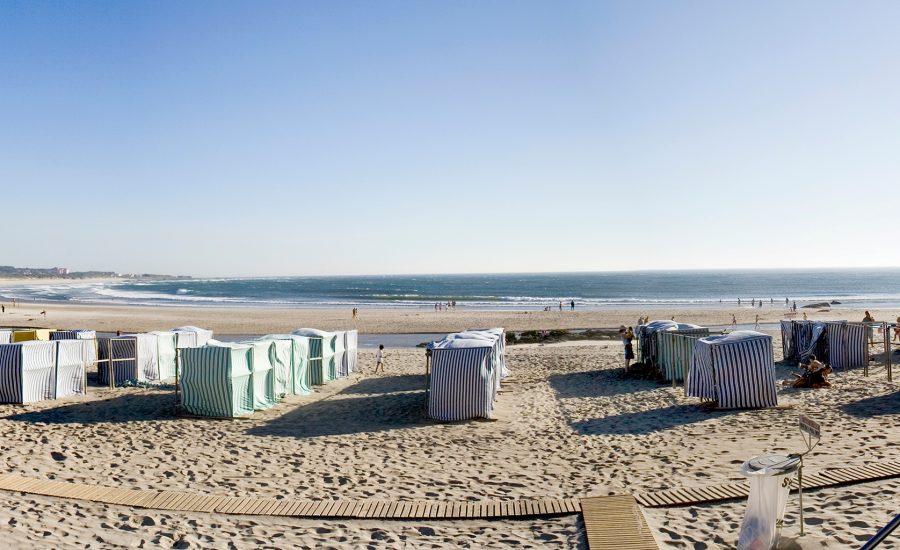Praia com Barracas, Vila Praia de Âncora