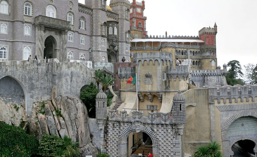 Pena National Park and Palace, Sintra